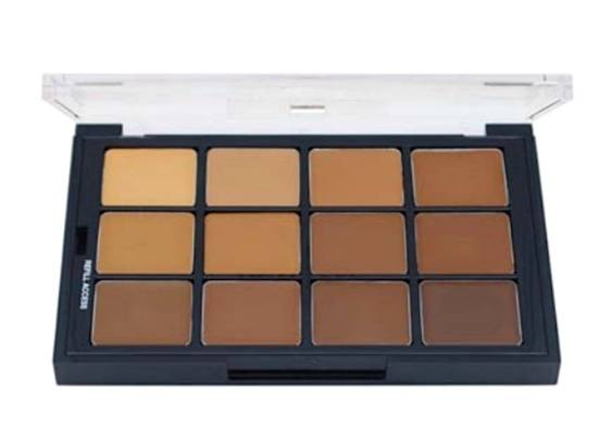 Ben Nye Studio Color Palette - Olive-Brown Matte Foundation STP-03