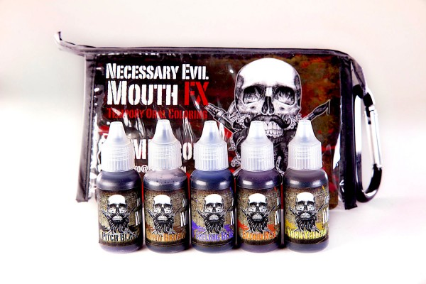 Skin Illustrator Mouth FX - Temporary Oral Coloring Kit 1