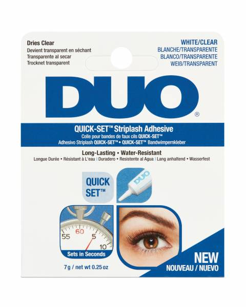 Duo Wimpernkleber Quick-Set Lash Adhesive Clear 7g