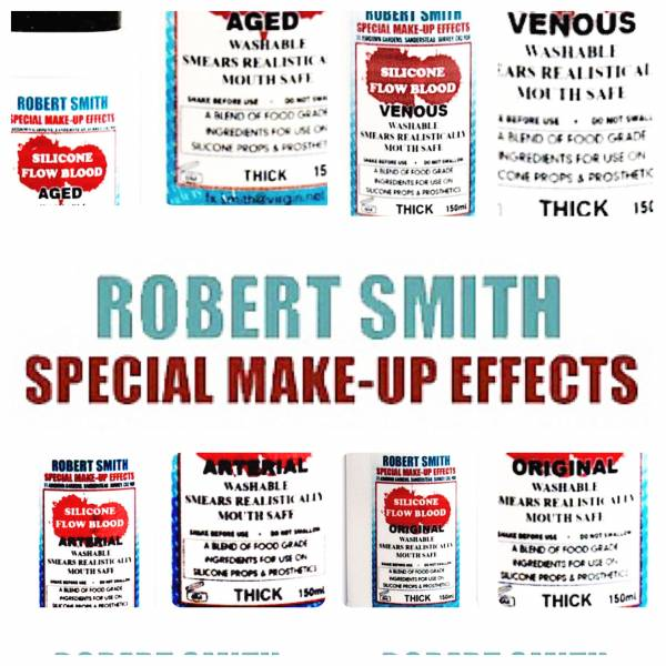Robert Smith - SILICONE THICK BLOODS
