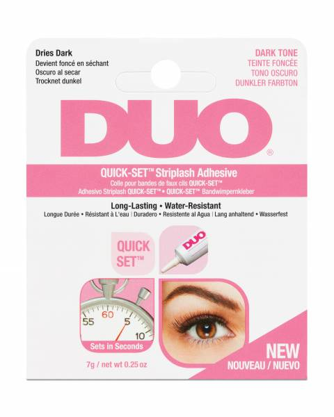 Duo Wimpernkleber Quick-Set Lash Adhesive Dark 7g