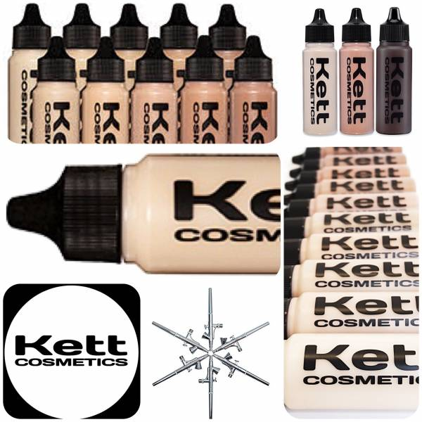KETT COSMETICS - HYDRO FOUNDATIONS 35ML