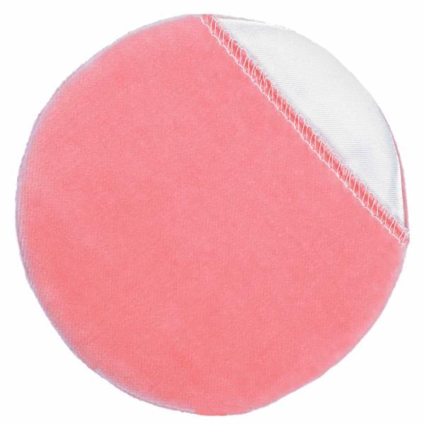 Kryolan Puderquaste rosa mit Einschub 10cm