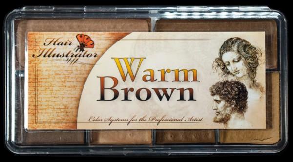 "Skin Illustrator Palette ""Warm Brown"""