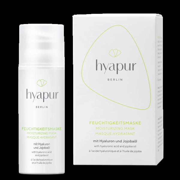 hyapur® hyapur® GREEN Feuchtigkeitsmaske 50ml