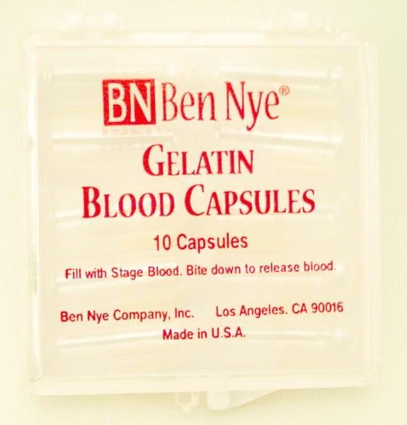 Ben Nye 10 Gelatin Blood Capsules