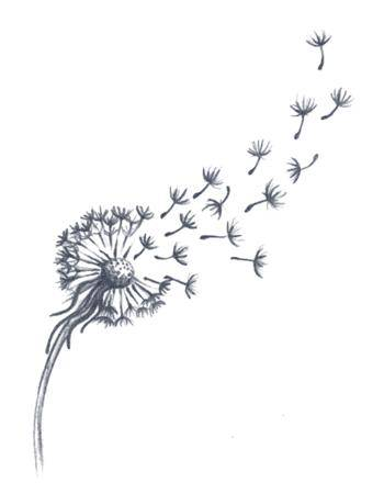 Tattooed Now! Temporary Tattoo - Dandelion Tattoo