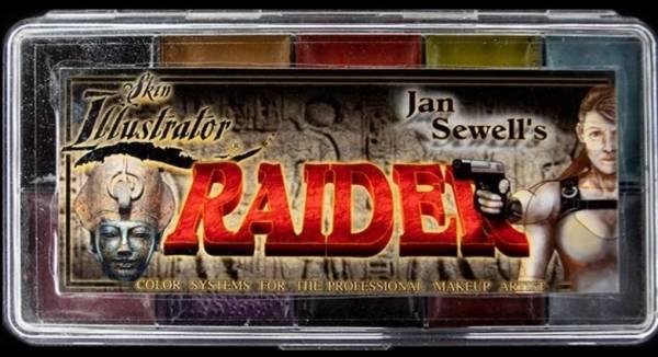 "Skin Illustrator Palette ""Raider"""