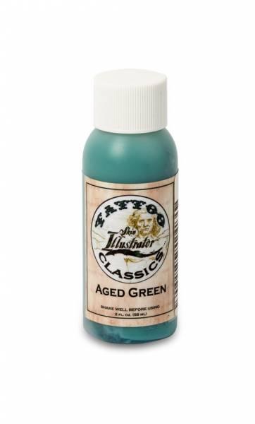 Skin Illustrator Tattoo Classics AGED GREEN Liquid 2oz