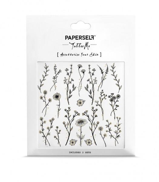 PAPERSELF Tattoo - Wildflower