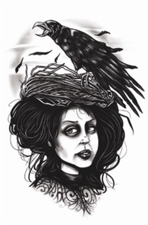Tinsley Transfers Goth - Ms. Crow