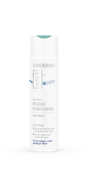 Siriderma Basisches Pflege-Duschbad - leicht duftend - 250ml
