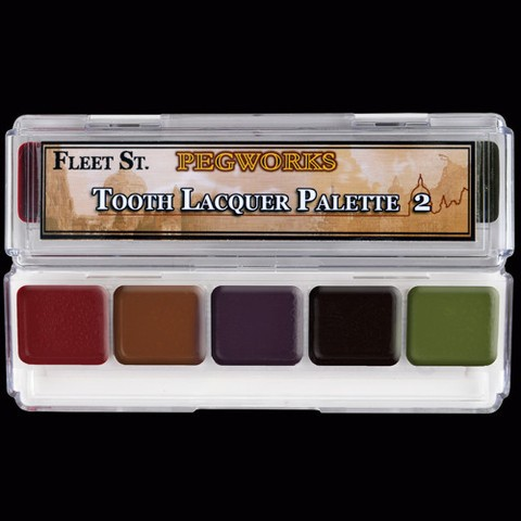 "Skin Illustrator Palette ""Tooth Lacquer 2"""