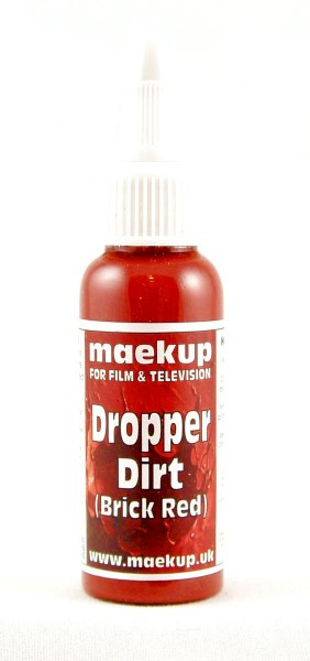 maekup - Dropper Dirt - Brick Red - 30ml