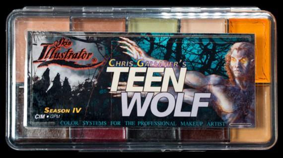 "Skin Illustrator Palette ""Teen Wolf"""