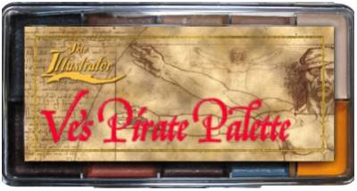 "Skin Illustrator Palette ""Ve´s Pirate"""