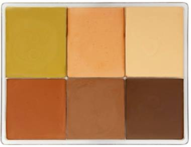 maqpro Fard Creme Palette - 6 Colors - E8