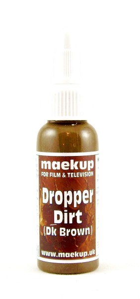 maekup - Dropper Dirt - Dark Brown - 30ml