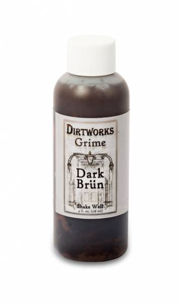 Skin Illustrator Grime DARK BRÜN 4oz