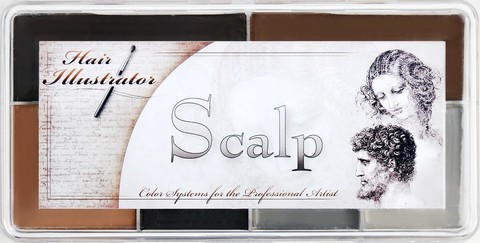 "Skin Illustrator Palette ""Scalp"""