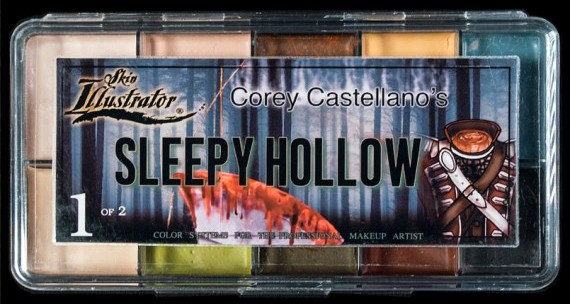 "Skin Illustrator Palette ""SLEEPY HOLLOW 1"""
