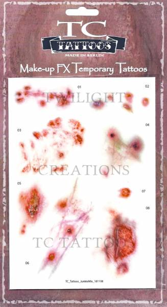 Twilight Creations TC Tattoos -Junkie Mix 01 - 09