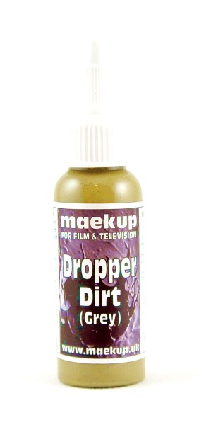 maekup - Dropper Dirt - Dark Grey - 30ml