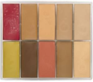 maqpro Fard Creme Palette - 10 correcteur créme color - PP02