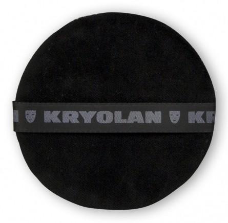 Kryolan Puderquaste schwarz 10cm