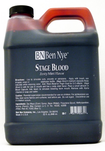 Ben Nye Stage Blood SB-7 - 32oz.