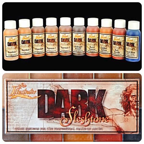 Skin Illustrator Dark Fleshtone Liquids