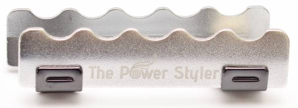 THE POWER STYLER Blow Dry Clips - Silver