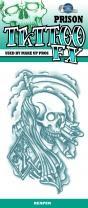 Tinsley Transfers Prison Tattoo - Reaper
