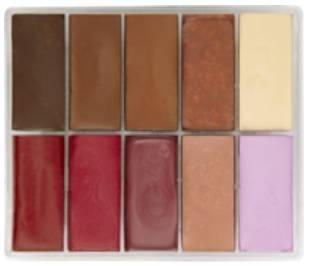 maqpro Fard Creme Palette - 10 correcteur créme color - MAP07