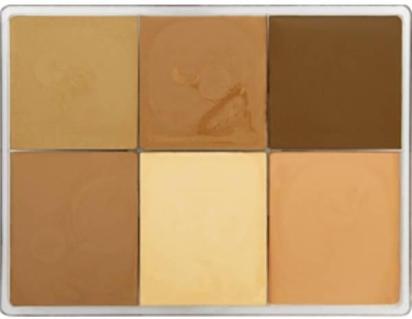 maqpro Fard Creme Palette - 6 Colors - E13