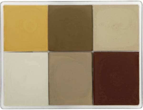 maqpro Fard Creme Palette - 6 Colors - MAP21