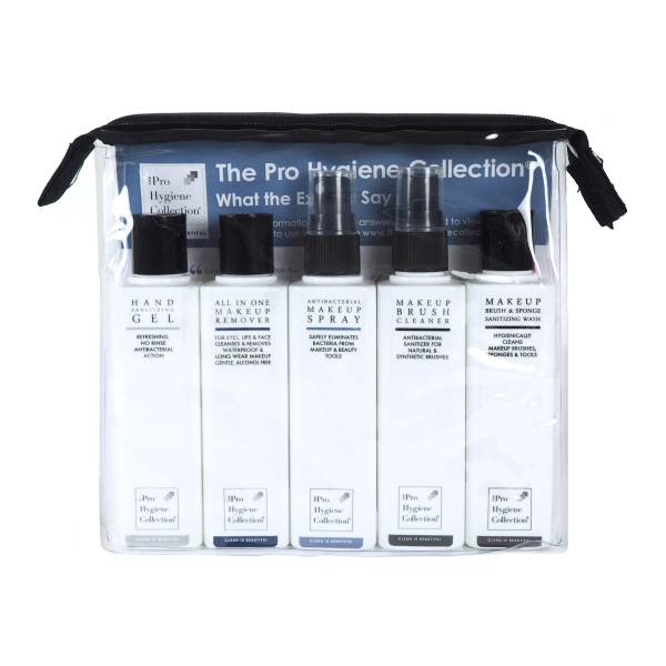 The Pro Hygiene Collection® Discovery Kit with Travel Bag (5 x 100ml)