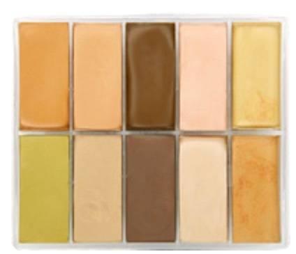maqpro Fard Creme Palette - 10 correcteur créme color - AB10