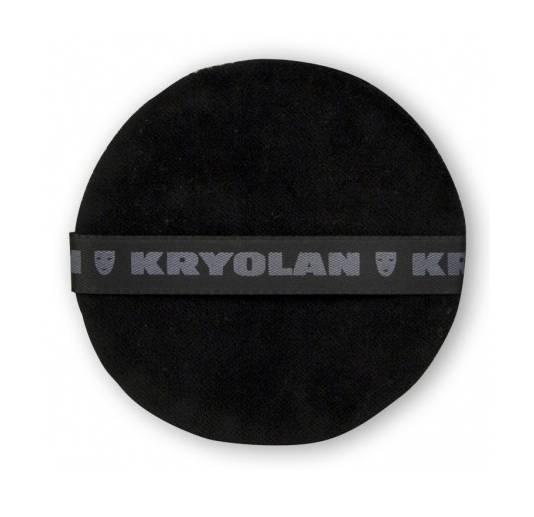 Kryolan Puderquaste schwarz 8cm