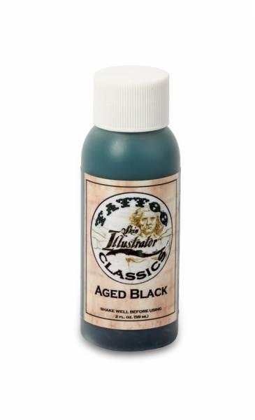 Skin Illustrator Tattoo Classics AGED BLACK Liquid 2oz