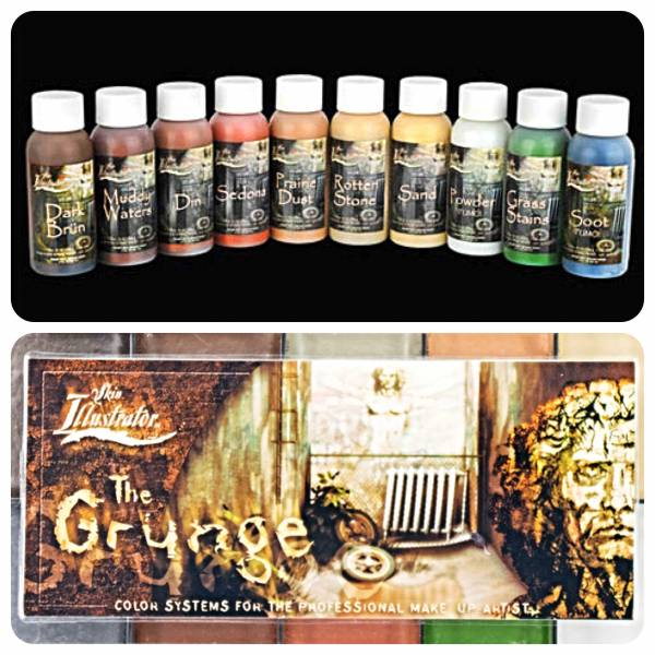 Skin Illustrator Grunge Liquids