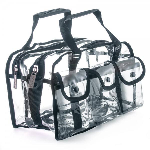 Monda - Makeup Clear Bag - MST-250 BLACK