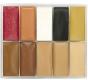 maqpro Fard Creme Palette - 10 correcteur créme color - PP22