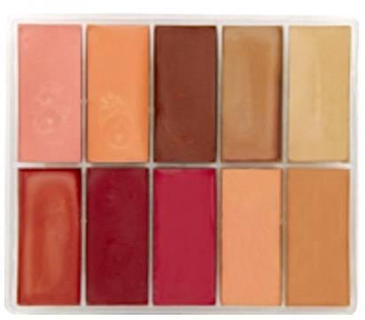 maqpro Fard Creme Palette - 10 correcteur créme color - PP18