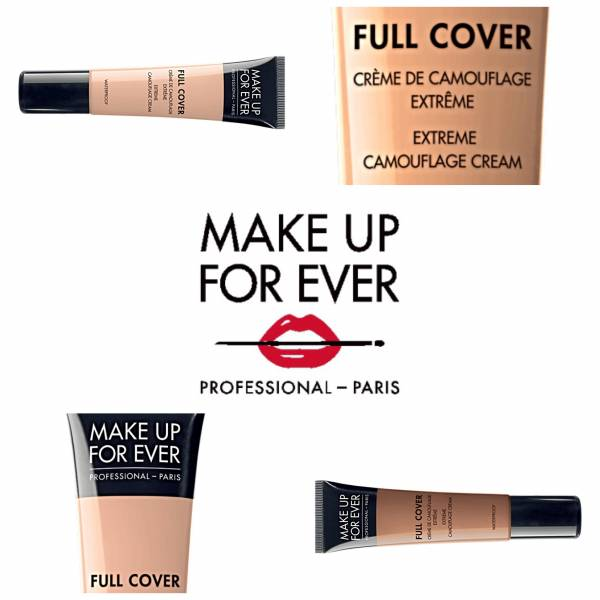 MAKE UP FOR EVER - FULL COVER - Extreme Camouflage