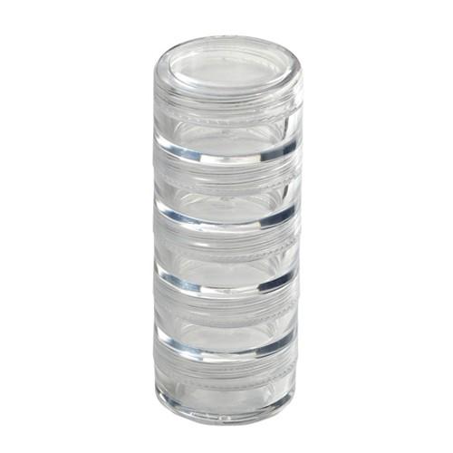 Monda - Makeup Stackable Jars 1/4oz. MSD-084