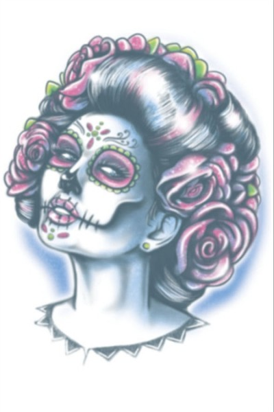 Tinsley Transfers Day Of The Dead - Senora Muerte
