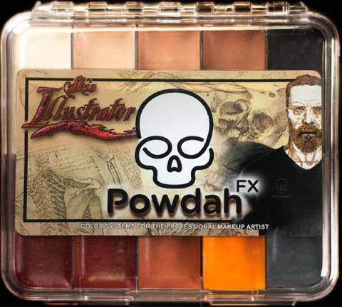 "Skin Illustrator ""Powdah"" On Set Palette"