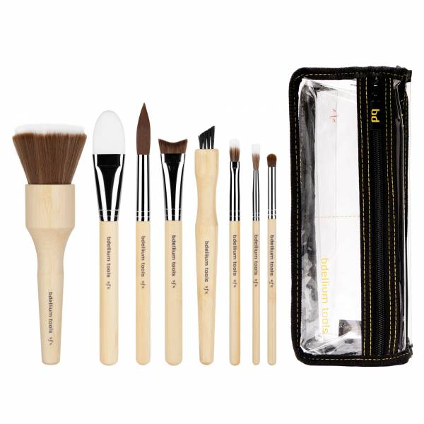 bdellium tools - SFX BRUSH SET 8 PC. WITH DOUBLE POUCH