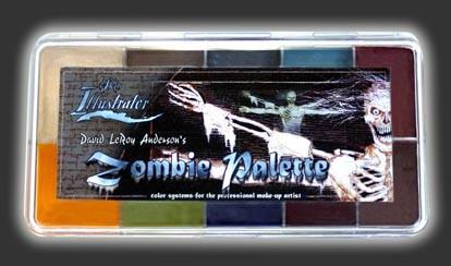 "Skin Illustrator Palette ""Zombie"""